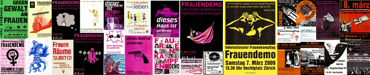 8. März Frauen*bündnis Zürich